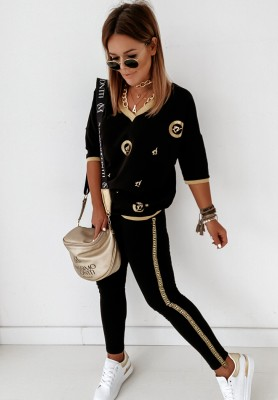 Spodnie Evamen Black