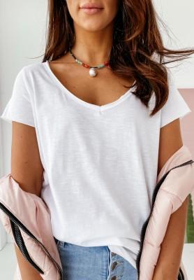 T-shirt Clair White