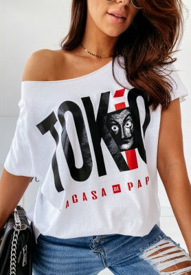 Bluzka Tokio White
