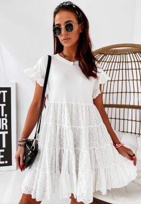 Sukienka Boho Calina White