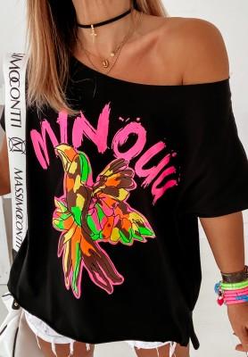 Bluzka Minou Colored Black
