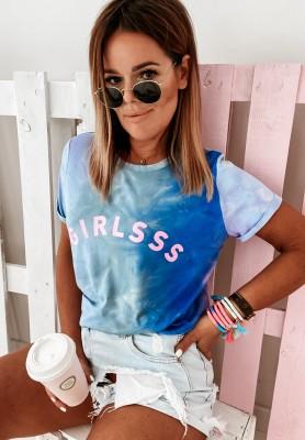 T-shirt Girlsss Ombre Blue