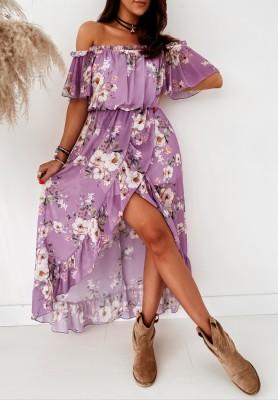 Sukienka Hiszpanka Priceless Flower Violet