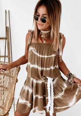 Sukienka Maile Ombre Camel