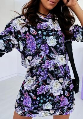 Bluza Sukienka Oxalis Violet