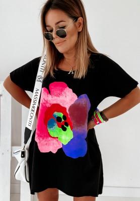 Sukienka Tunika Blossom Black