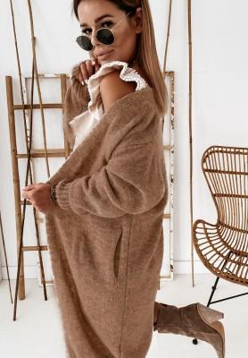 Sweter Kardigan Tallina Mokka