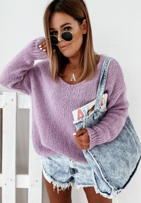 Sweter Roxanne Lilac