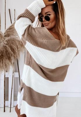 Sweter Kardigan Tracy Mokka