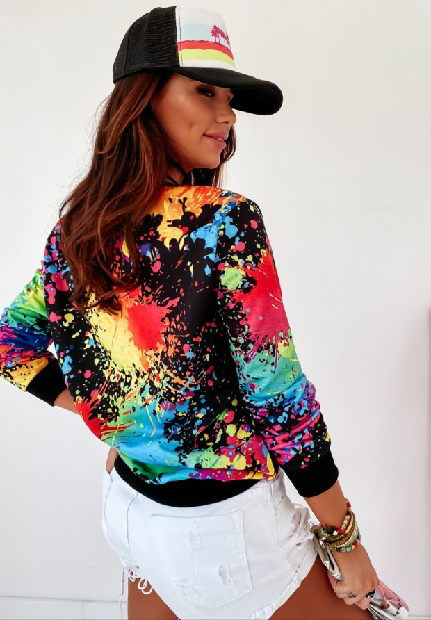 Bluza Crayon Color Black
