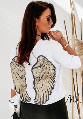 Bluzka Baila Wings White