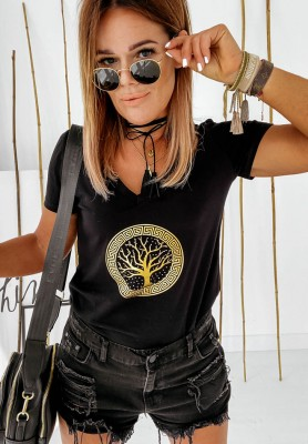 T-Shirt Albero Black