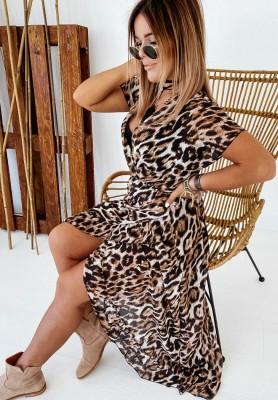 Sukienka Maxi Malesia Panter