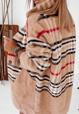 Płaszcz Alpaka Avola Berry Camel