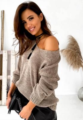 Sweter Silissa Mokka