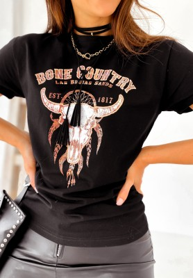 T-shirt Country Black