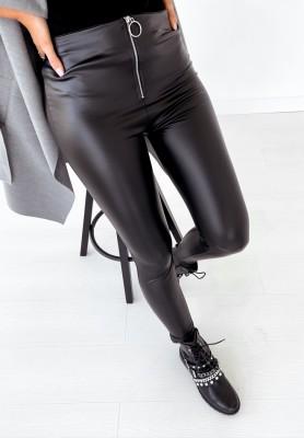 Legginsy Zip Black