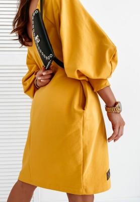 Sukienka Lamu Dana Musztarda