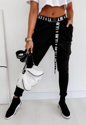 Spodnie Lamu Brunello Black