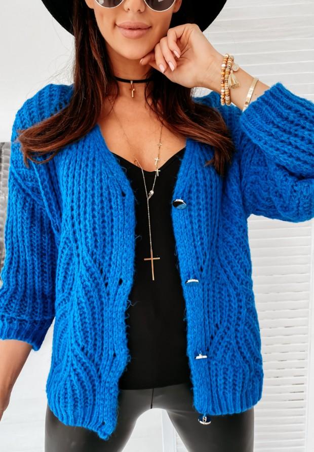 Sweter Amaya Kobalt