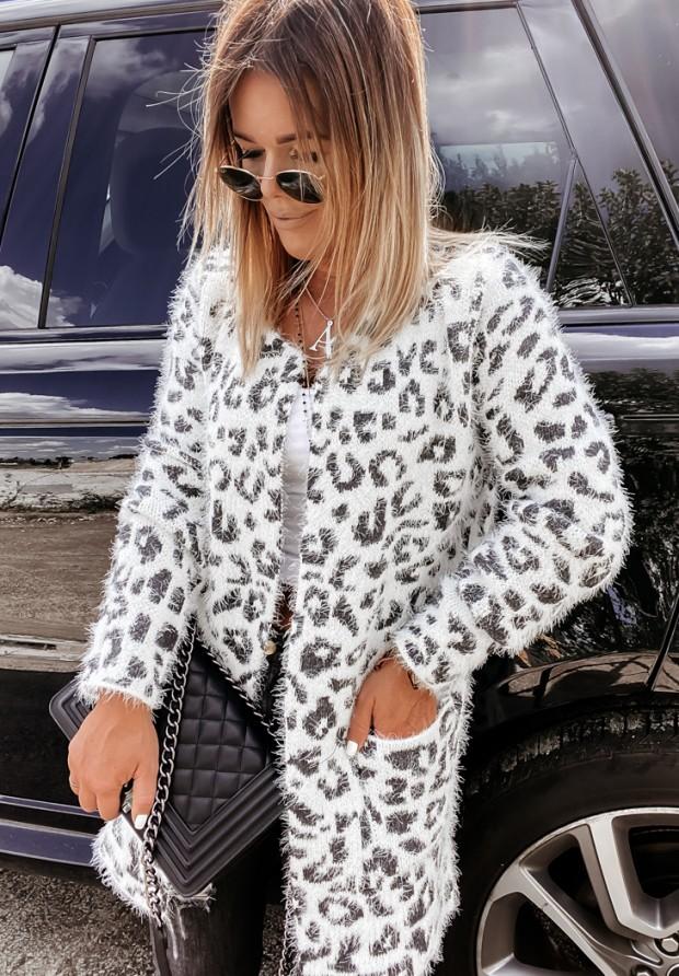 Sweter Kardigan Panter