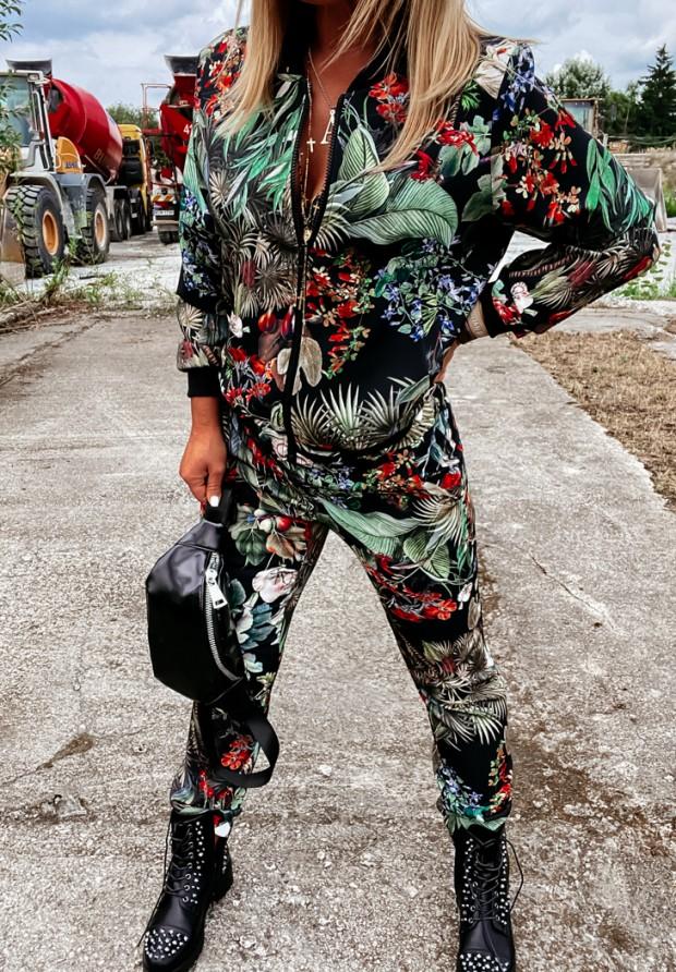 Spodnie Jungle Black