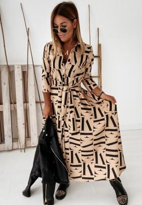 Sukienka Cocomore Malmo Camel