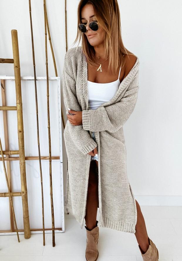 Sweter Kardigan Nancy Beige