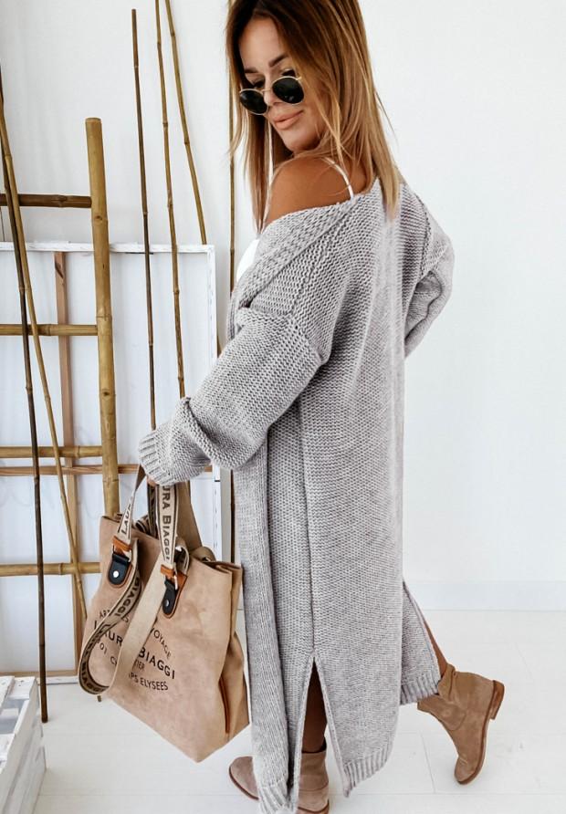 Sweter Kardigan Nancy Grey