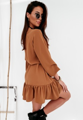 Sukienka Vilani Camel