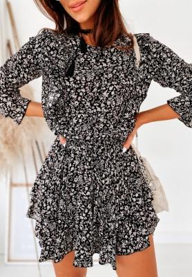 Sukienka Soft Melanż Beige