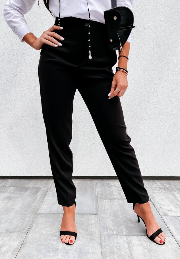 Spodnie Cygaretki Enber Black
