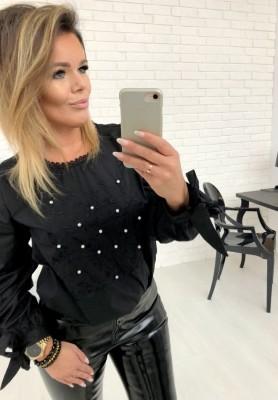 33102 Bluza Koszula Roma Czarna