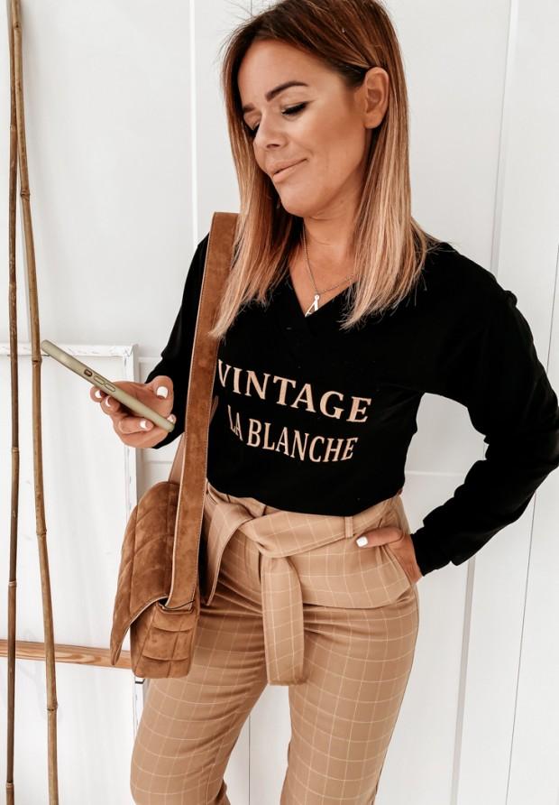 Bluzka Vintage Black