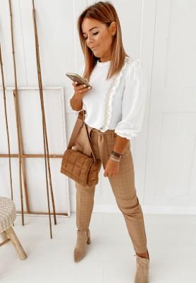 Spodnie Cygaretki Lorene Camel
