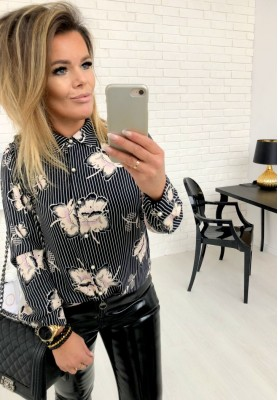 Bluzka Koszula Elisa Czarna