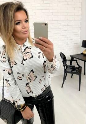 Bluzka Koszula Elisa Ecru