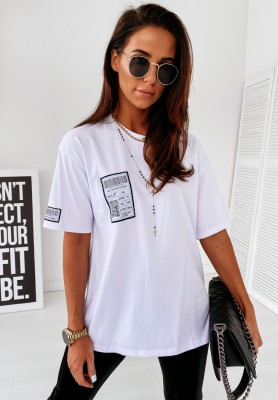 T-shirt Bloggers White