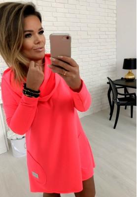 Bluza Sukienka Lemonade Neon Róż