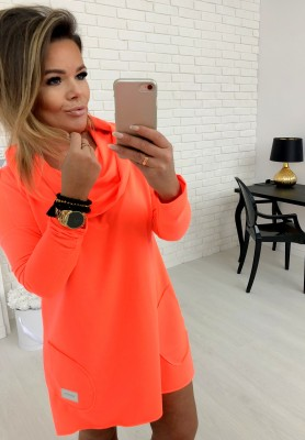 Bluza Sukienka Lemonade Neon Orange