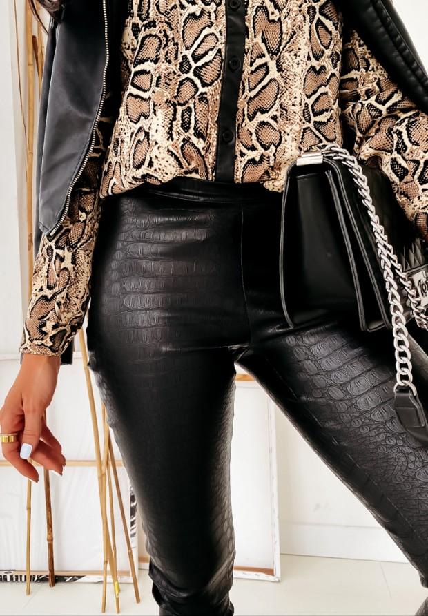 Spodnie Woskowane Cocomore Snake Black