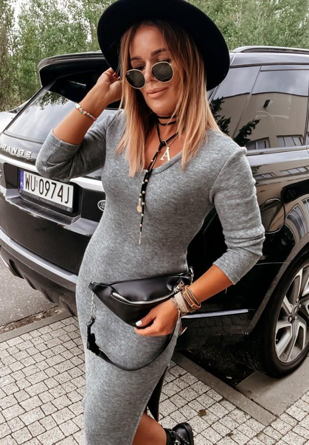 Sukienka Editta Grey