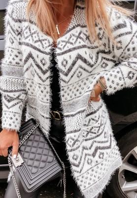 Sweter Kardigan Lagos Aztek