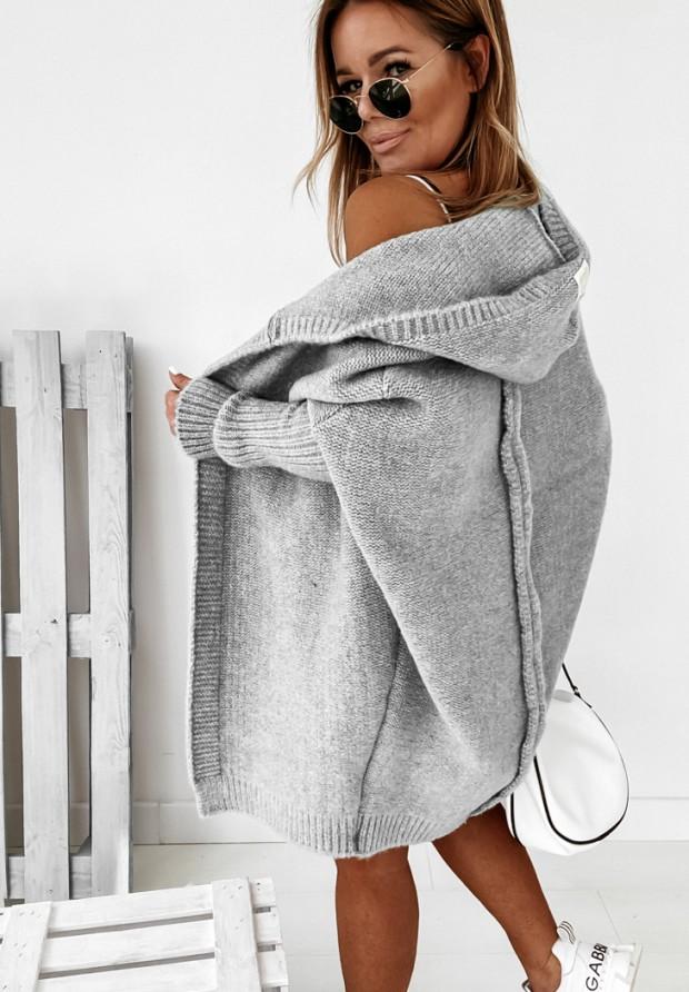 Sweter Kardigan Montevista Grey