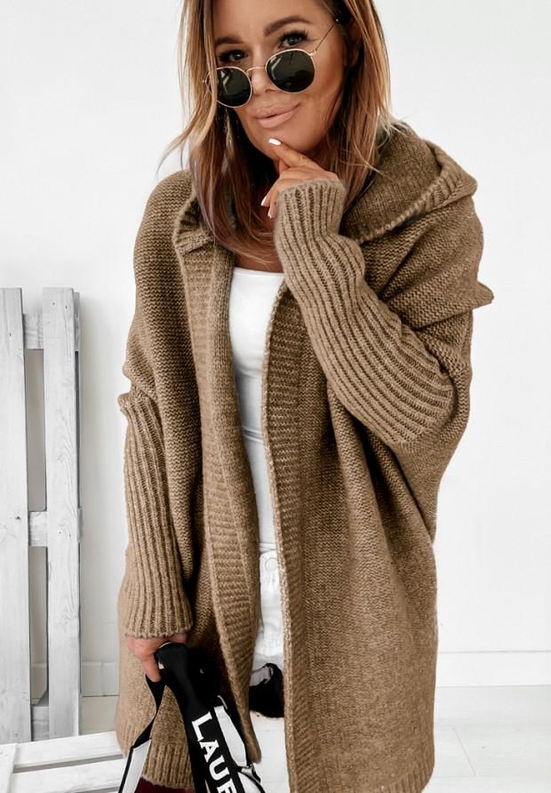 Sweter Kardigan Montevista Taupe