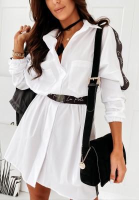 Sukienka Koszula La Perla Mira White