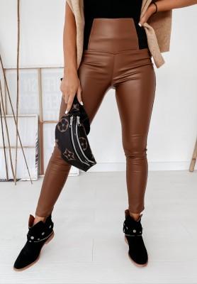 Spodnie Woskowane Erem Camel