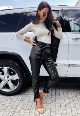 Spodnie Woskowane Mirami Black