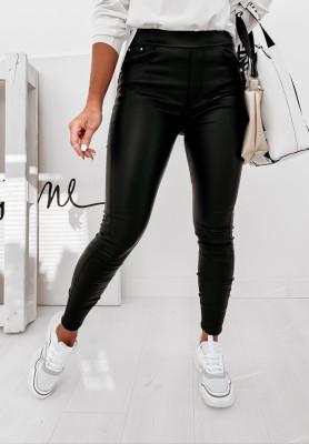 Spodnie Woskowane Mayis Black