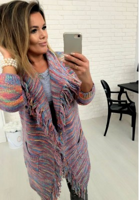 62140 Sweter Kardigan Giorgia Pink